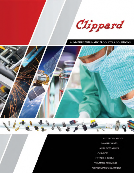 Clippard - Miniature Pneumatic Products & Solutions Katalog