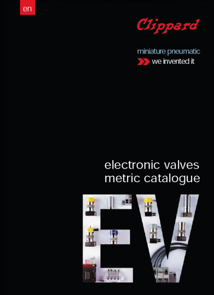 Clippard - Metric Electronic Valves Catalog