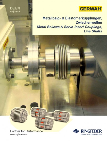 Ringfeder Gerwah - Metal Bellows & Servo-Insert Couplings