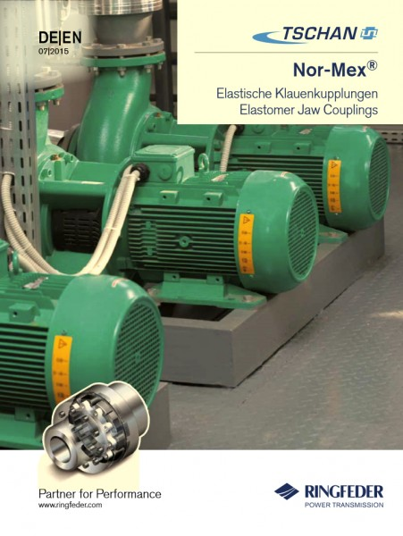 Ringfeder Tschan - NORMEX Elastische Klauenkupplung